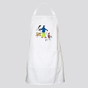 Walking Flyball Dogs BBQ Apron