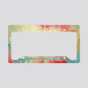 VINTAGE WALL DISTRESSED License Plate Holder