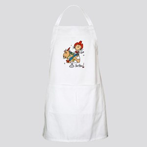Cowgirl Mechanical Bull BBQ Apron