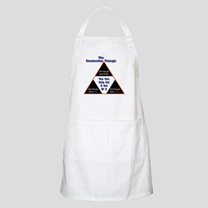 Construction Triangle BBQ Apron