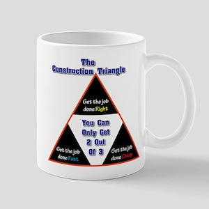 Construction Triangle Mug