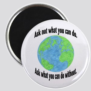 Ask not what you can do... Magnet