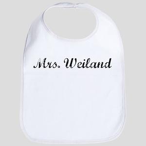 Mrs. Weiland Bib