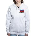 Polyamory Flag Women's Zip Hoodie