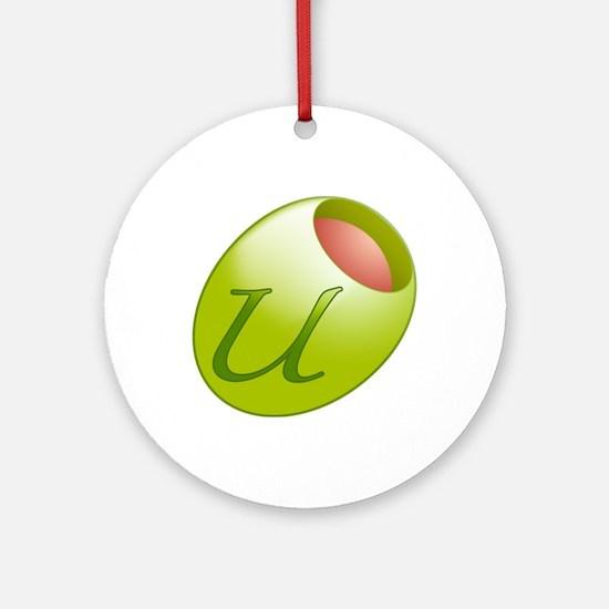 O-love U Ornament (Round)