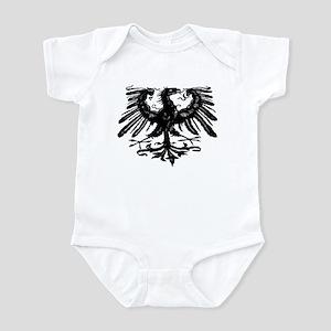 Gothic Prussian Eagle Infant Bodysuit