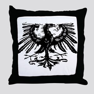 Gothic Prussian Eagle Throw Pillow