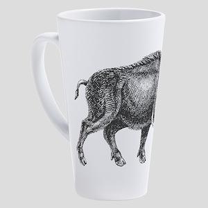 Wild Boar 17 oz Latte Mug