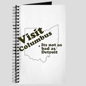 Visit Columbus, Not as Bad as Journal