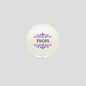 Props Name Badge Mini Button
