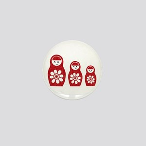 Riyah-Li Designs Nesting Dolls Three Mini Button