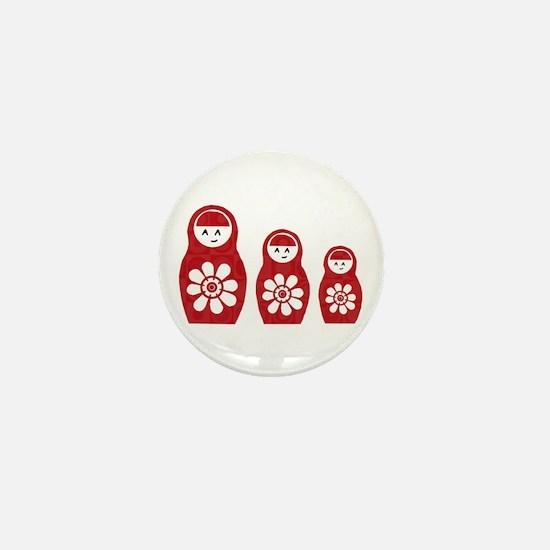 Riyah-Li Designs Nesting Dolls Three Mini Button