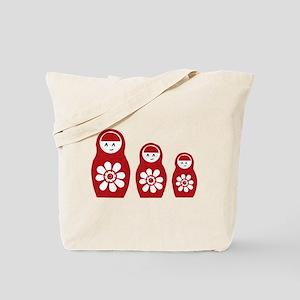 Riyah-Li Designs Nesting Dolls Three Tote Bag