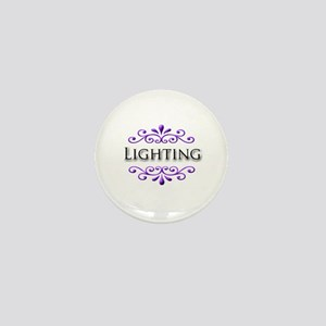 Lighting Name Badge Mini Button