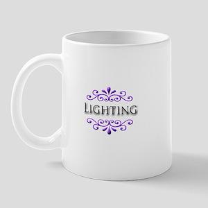 Lighting Name Badge Mug