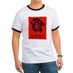 Obey the Schnoodle! propaganda Ringer T
