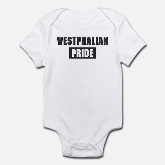 Westphalian pride Infant Bodysuit