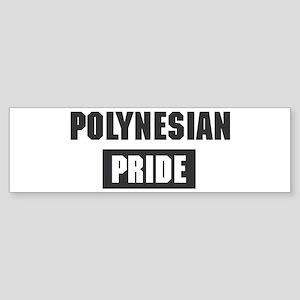 Polynesian pride Bumper Sticker