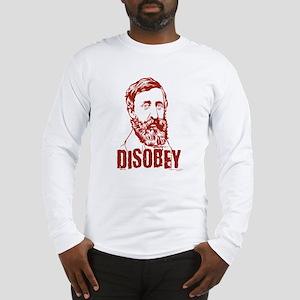 Thoreau Disobey Long Sleeve T-Shirt