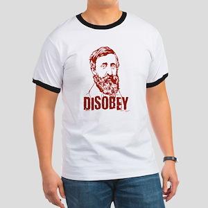 Thoreau Disobey Ringer T