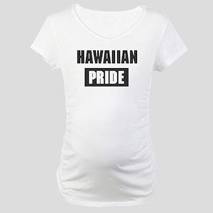 Hawaiian pride Maternity T-Shirt