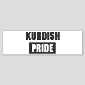Kurdish pride Bumper Sticker