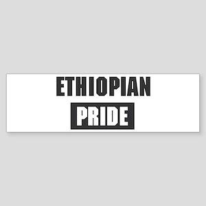 Ethiopian pride Bumper Sticker