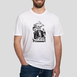 Calavera Tapatia Fitted T-Shirt