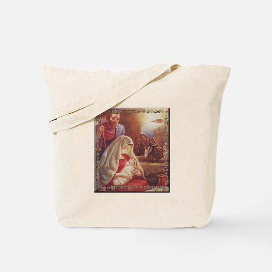 Alien Jesus Tote Bag