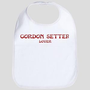 Gordon Setter lover Bib