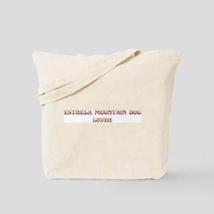 Estrela Mountain Dog lover Tote Bag