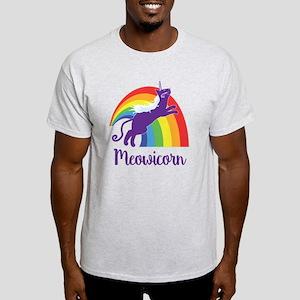 Unicorn Cat Light T-Shirt