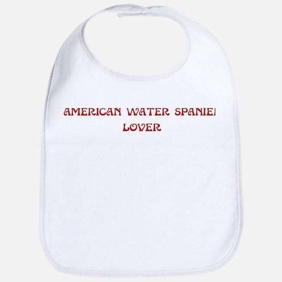 American Water Spaniel lover Bib