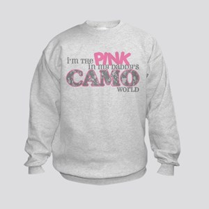 I'm the pink (ACU) Kids Sweatshirt