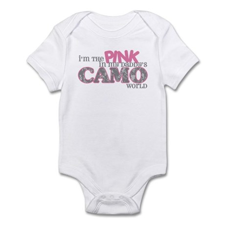 I'm the pink (ACU) Infant Bodysuit