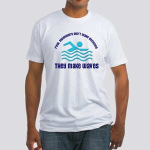 Real Swimmers Fitted T-Shirt
