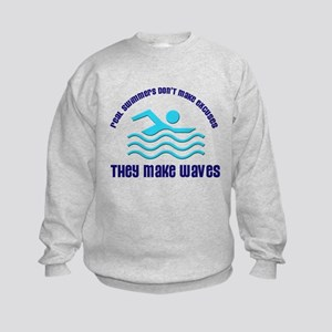 Real Swimmers Kids Sweatshirt