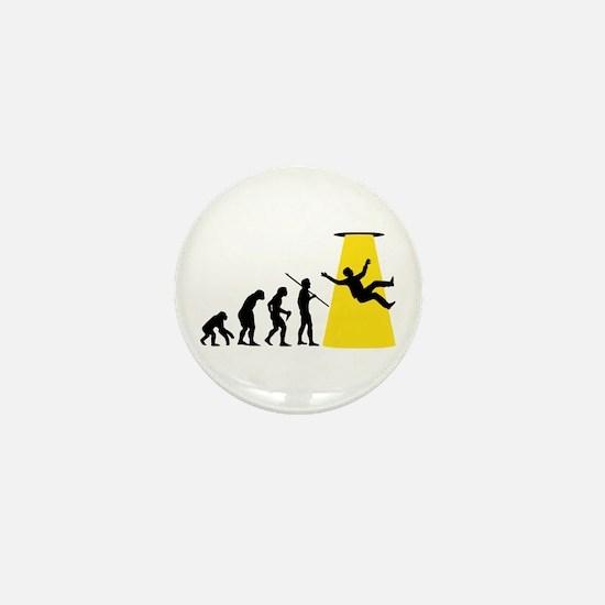 Beam Me Up Mini Button