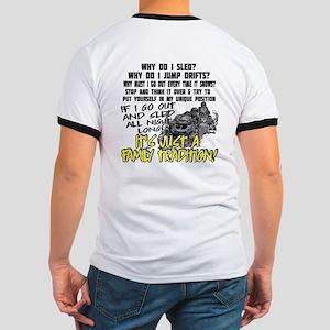 (Back Print) Family Tradition Ringer T