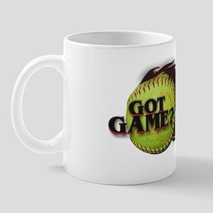 Got Game? Fastpitch Softball Mug