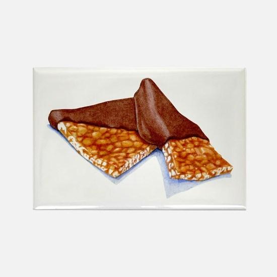 Peanut Brittle Rectangle Magnet (10 pack)
