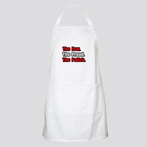 """Few. Proud. Polish."" BBQ Apron"