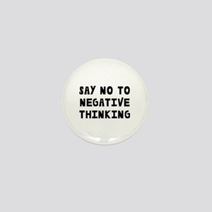Say No Mini Button