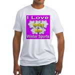 Hockey Mom Fitted T-Shirt