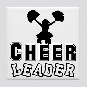 Cheerleading Tile Coaster