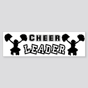 Cheerleading Bumper Sticker