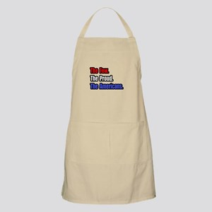 """Few. Proud. Americans."" BBQ Apron"