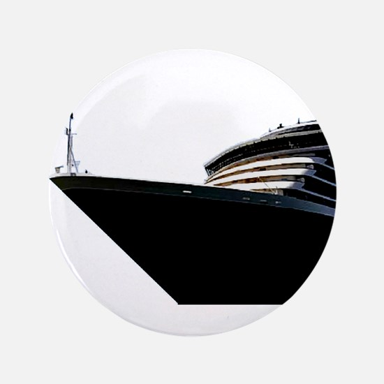 "Bow of a Cruise Ship 3.5"" Button"