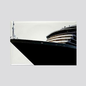 Bow of a Cruise Ship Rectangle Magnet
