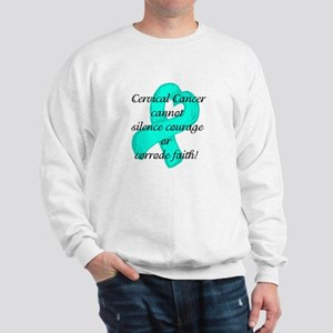 Courage and Faith Cervical Sweatshirt